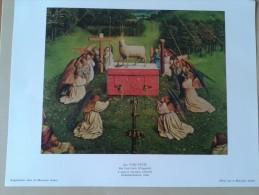 Het Lam Gods(fragment) Door Jan Van Eyck. , Sint Baafskathedraal Gent - Autres