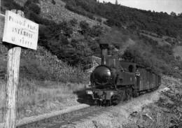 BVA 650-09 - Train - Loco 020+020 T N° 103 Entre SAINT-CHAMANT Et FORGES - Corrèze 19 - POC - Autres Communes