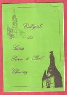 Collégiale Des Saints Pierre Et Paul CHIMAY - Abbé Defontaine - 1990 -  Notes De Visite - - Dépliants Turistici