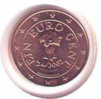 ** 1 CENT AUTRICHE 2002 PIECE NEUVE ** - Autriche