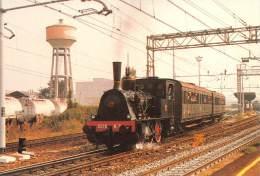 """03734 """"REGGIO EMILIA - LOCOM. T3 - VAGONI CENTOPORTE """". FERROVIA TRENO - RAILWAY TRAIN CART. ILL.  ORIG.  NON SPEDITA. - Trains"""