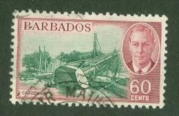 Barbados: 1950   KGVI    SG280    60c        Used - Barbades (...-1966)