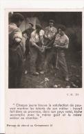 CHANTIERS DE LA JEUNESSE  GROUPEMENT 26 GROUPE 11 A SAUVETERRE DE COMMINGES (HAUTE GARONNE) FERRAGE DE CHEVAL (1942) - Weltkrieg 1939-45