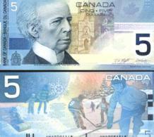 Canada #101, 5 Dollars, 2002, UNC / NEUF - Kanada