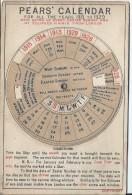 Calendrier à Disque Central/Pour Quinze Années/ Anglais / Londres/Eclipses/1913-1929    CAL211 - Petit Format : 1901-20