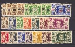 00462  - Wallis  :   Yv  133-46 + 148-55  * - Wallis-Et-Futuna