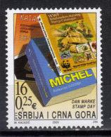 Yugoslavia,Stamp Day 2003.,MNH - 1992-2003 República Federal De Yugoslavia