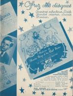 Catalogue Promotionnel/Editeurs De Disques/La Voix De Son Maitre/Vers 1938-39   CAT97 - Music & Instruments