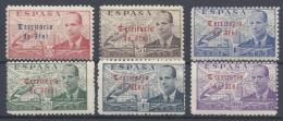 ESPAÑA SPAIN IFNI 1949 Nº 59/64 ** - Ifni