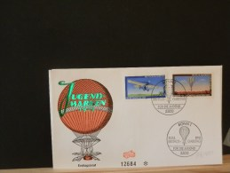 53/441      2        FDC   ALLEMAGNE - Airships