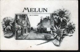 77, MELUN, RUE SAINT AMBROISE - Melun
