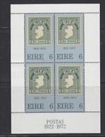 Ireland 1972 Anniversary Of The 1st Irish Stamp M/s ** Mnh (23007A)