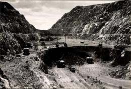 Cp Kiruna Schweden, Eisenerzbergwerk, Tagebau, Erzabbau, Bagger - Zweden