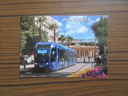 Le Tramway De L'agglomération De Montpellier ( Hérault )             Quartier Gare - Postcards