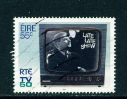 IRELAND  -  2011  RTE Irish TV  55c  Used As Scan - 1949-... Republic Of Ireland