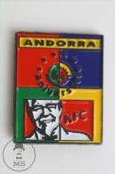 Andorra KFC Trademark - Pin Badge #PLS - Marcas Registradas
