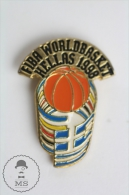 HELLAS 1998 FIBA World Championship - Pin Badge #PLS - Pallacanestro
