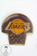 Los Angeles Lakers Basketball Team Logo Pin Badge #PLS - Baloncesto