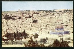 Jerusalem, Panorama, Generalkommissariat Des Heiligen Landes - Israel