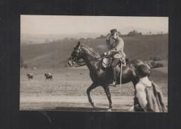 AK Kaiser Franz Josef II Zu Pferde - Familles Royales