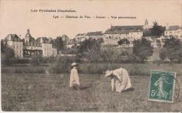 LESCAR 546 ENVIRONS DE PAU VUE PANORAMIQUE 1910 - Lescar