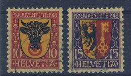 Schweiz Michel No. 143 - 144 gestempelt used