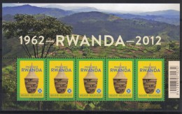 Belgie 2012 Rwanda 4240  *** PLAKPRIJS OPRUIMING *** - Blocs 1962-....
