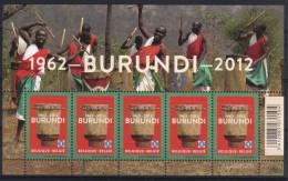 Belgie 2012 Burundi 4241  *** PLAKPRIJS OPRUIMING *** - Blocs 1962-....