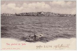 25583g JAFFA - Vue Général - Panorama - 1902 - Joseph A. Mitri Editeur - Israel