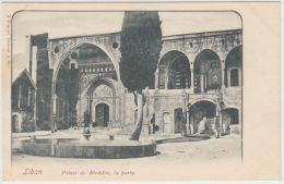 25588g LIBAN - Palais De Bteddin La Porte - Tarazzi & Fils Editeur - Liban