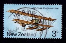 New Zealand 1974 Airmail Transport 3c Boeing Seaplane Used - New Zealand