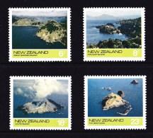 New Zealand 1974 Offshore Islands Set Of 4 MNH - New Zealand