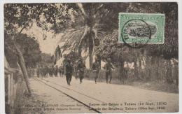 BG047/ Bildganzsache Ex Kigoma 1920 Mit Zusatzmarke Bildseitig Nach Frankreich