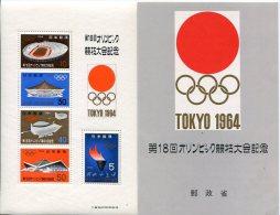 Japon         Bloc Feuillet N° 59  **  Avec Son Encart - Blocks & Sheetlets