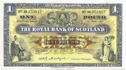 Scotland - 1958 - 1 Pound - P324  - EF+ - [ 3] Schottland