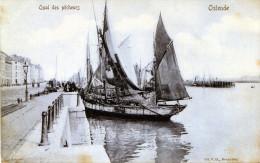 Ostende. Quai Des Pêcheurs - Oostende