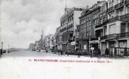 Blankenberghe. Grand Hôtel Continental Et La Digue (Est) - Blankenberge