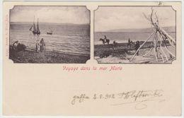 25598g  MER MORTE - Voyage - 1902 - Joseph A. Mitri Editeur - Israel