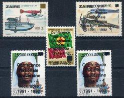 Zaïre                                            Divers  ** - 1990-96: Neufs