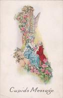 Valentine's Day Cupids Message Romantic Victorian Couple - Dia De Los Amorados