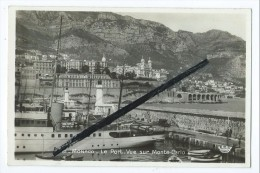 Carte - Monaco - Le Port - Vue Sur Monte Carlo - Harbor