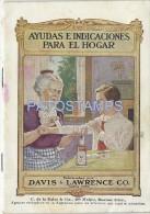 12930 ARGENTINA PUBLICITY COMMERCIAL DAVIS & LAWRENCE CO. QUIMICOS BALSAMO PILDORAS PARCHES NO POSTAL POSTCARD - Ohne Zuordnung