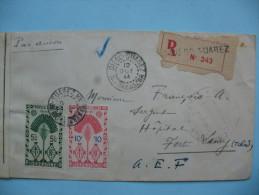 LETTRE DE DIEGO SUAREZ A FORT-LAMY - 12 OCTOBRE 1944 - Madagascar (1889-1960)