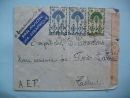 LETTRE DE TANANARIVE  A FORT-LAMY - 17 MAI 1945 - Madagascar (1889-1960)