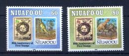 NIUAFOOU 10 Years Stamps - Día Del Sello