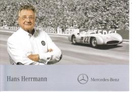 Hans Herrmann  -  Mercedes Grand Prix  -  Carte Promo - Grand Prix / F1