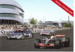 Lewis Hamilton  -  Mercedes Grand Prix  -  Carte Promo - Grand Prix / F1