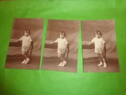 Lots De Photos D'enfants Atypique - Personnes Anonymes