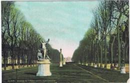 Cpa PARIS Avenue De L Observatoire (luxembourg) - Zonder Classificatie