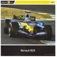 Renault R25 F1 Grand Prix  -  Carte Promo - Grand Prix / F1